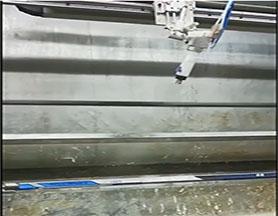 自动喷漆机喷冰球杆