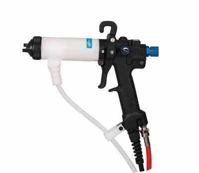 水性静电喷枪