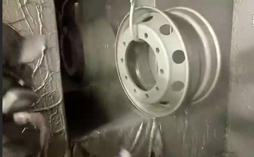 汽车轮毂用静电喷枪